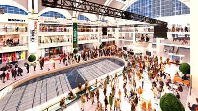Tower City Center Rendering
