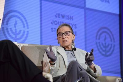 Justice Ruth Bader Ginsburg discusses a variety of topics