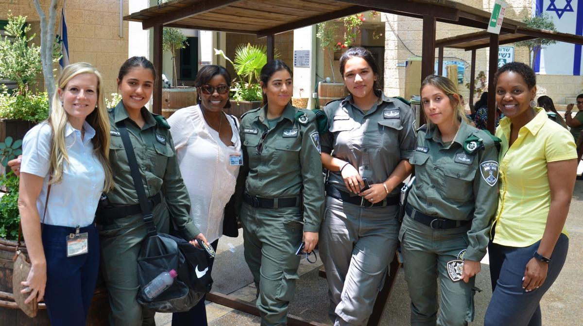 Female Israeli Border Police
