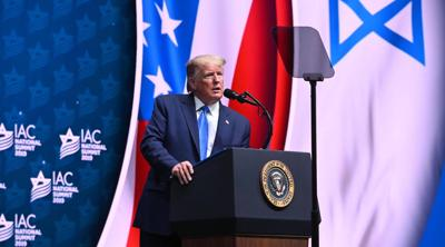 Speaking to Israeli-American group, Trump slams Jews who 'don't love Israel enough'