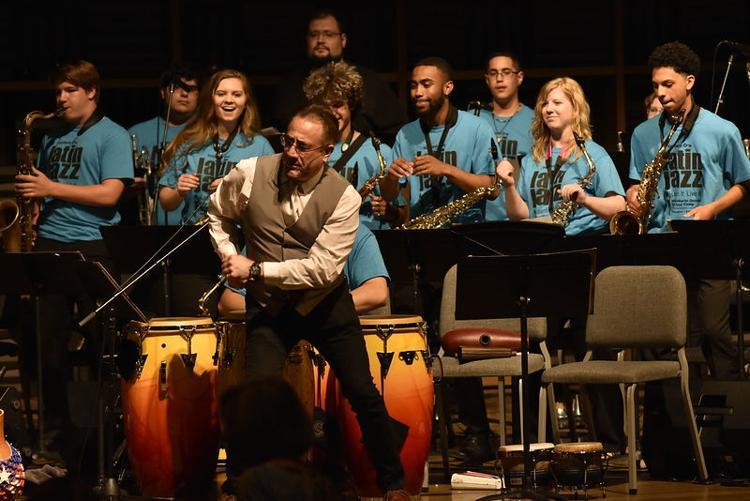 Roberto Ocasio Latin Jazz Camp and Concert