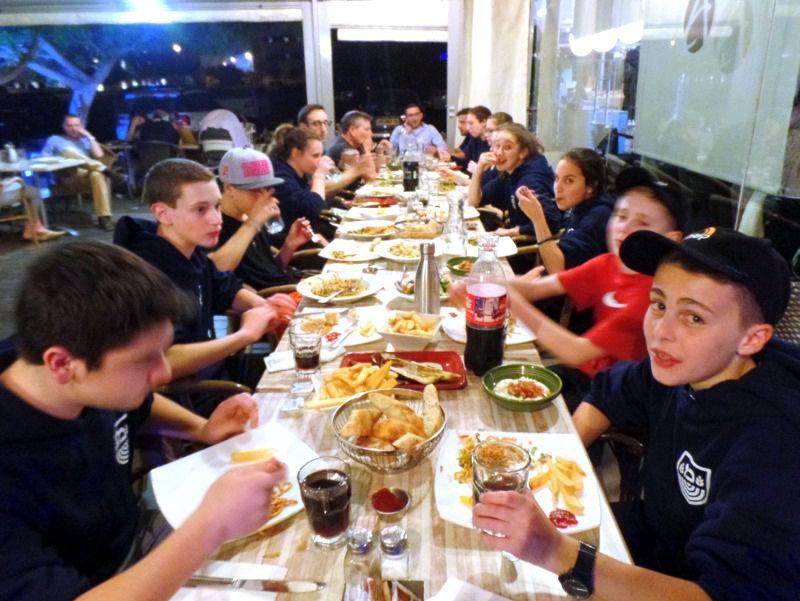 Dinner in Israel, May 3