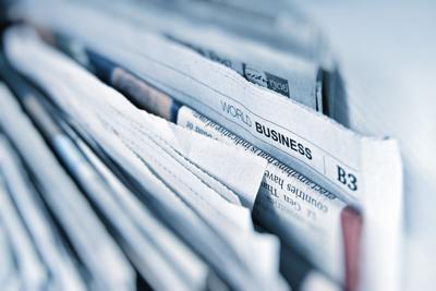Stock newspaper