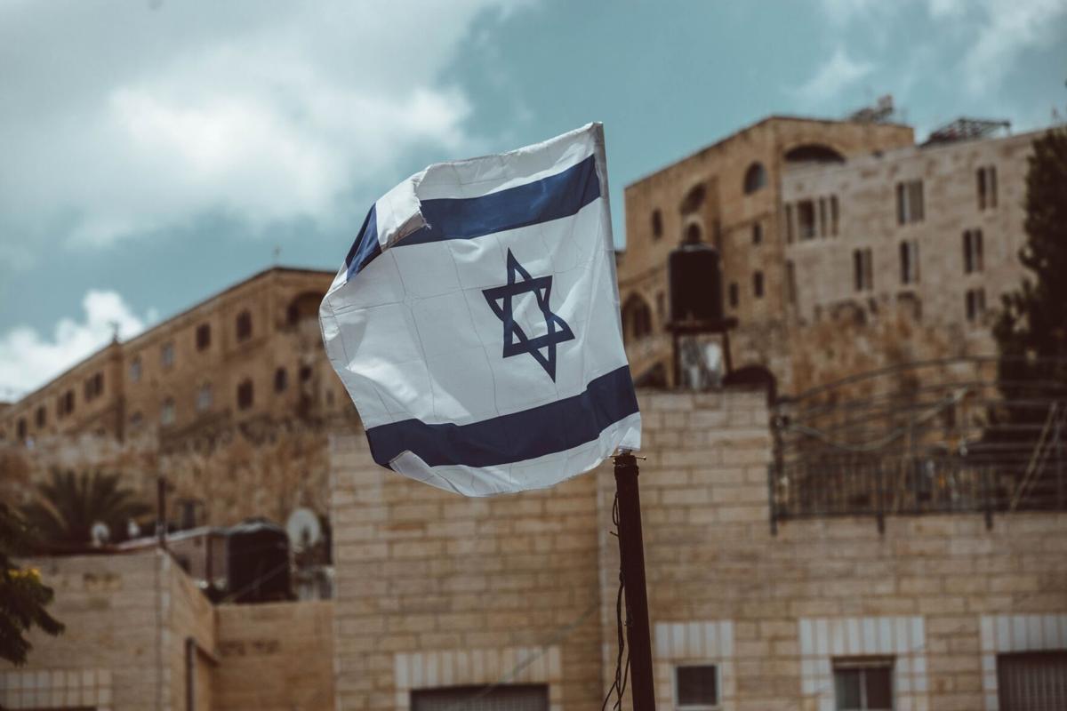 Stock Israel flag