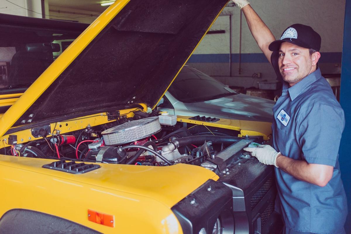 Stock mechanic car