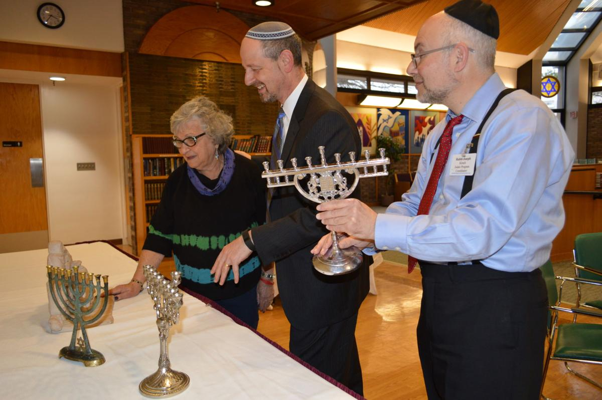 Stone Gardens Beachwood Ohio Menorah park maltz museum prepare for chanukah events local news beachwood resident jackie elsner from left stone gardens administrator ross wilkoff and judaic program coordinator rabbi joseph kirsch explore some of the workwithnaturefo
