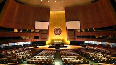 U.N. General Assembly hall