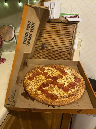 swastika pizza
