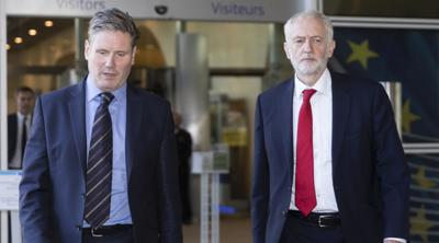 Jeremy Corbyn could be expelled from Labour over anti-Semitism, his successor says