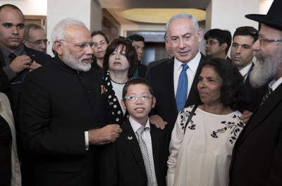 Moshe Holtzberg, whose parents were killed in 2008 Mumbai attack, celebrates bar mitzvah