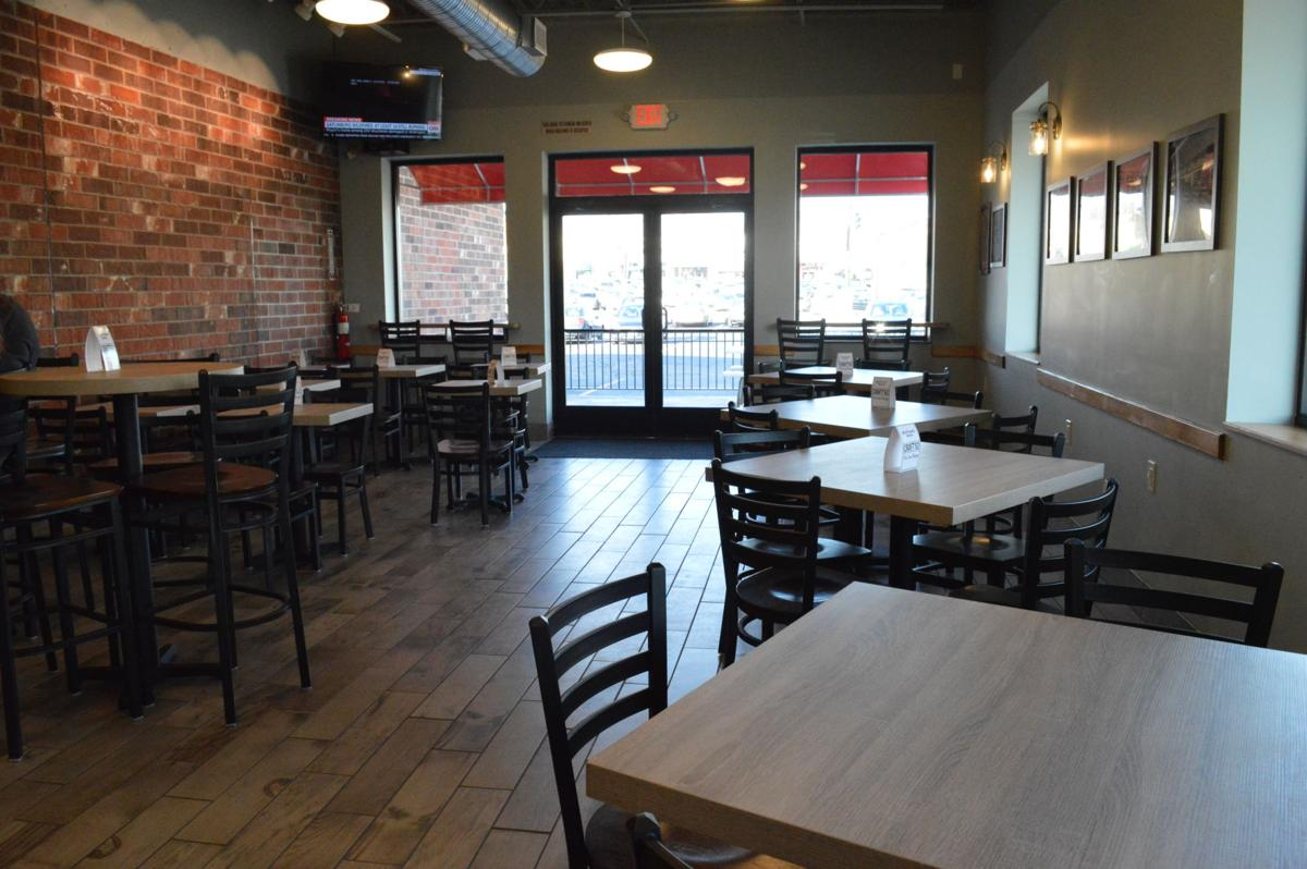 The New Dining Room And Patio At Davis Bakery In Woodmere Can Seat Up To 49 Guests