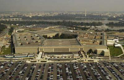 stock Pentagon building