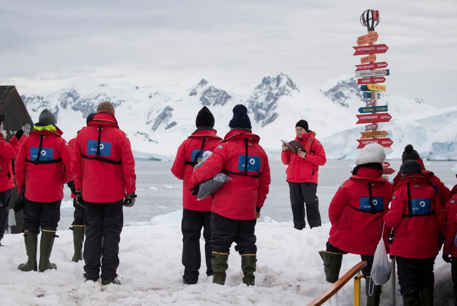 Beachwood man's Shomer Shabbos expedition visits Antarctica