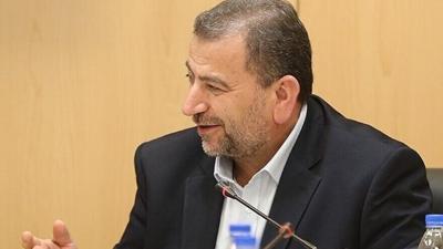 Hamas deputy politburo head Saleh al-Arouri, Oct. 21, 2017.