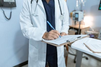 Stock health paperwork