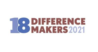 18 Difference Makers 2021 logo