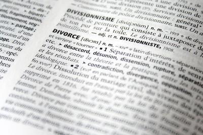 stock divorce