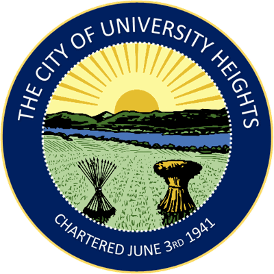 University Heights city logo