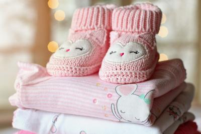 Stock baby clothes onsie