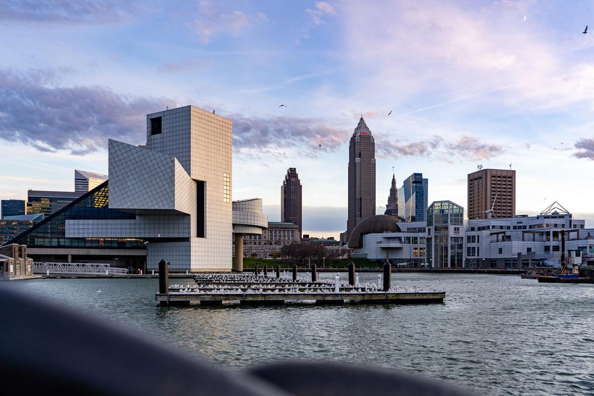 stock Cleveland skyline