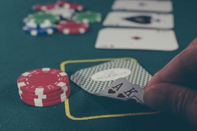stock casino playing cards