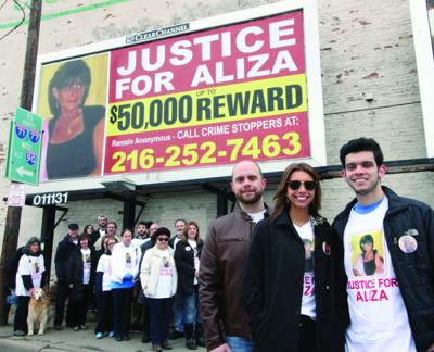 Justice for Aliza billboard