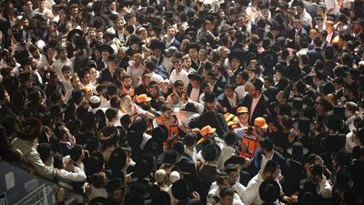 United Hatzalah emergency-service workers