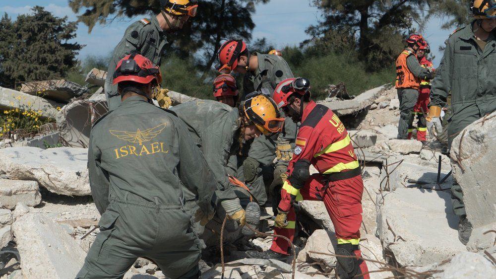 Natural Disaster Drill Makes For Seemingly Unnatural