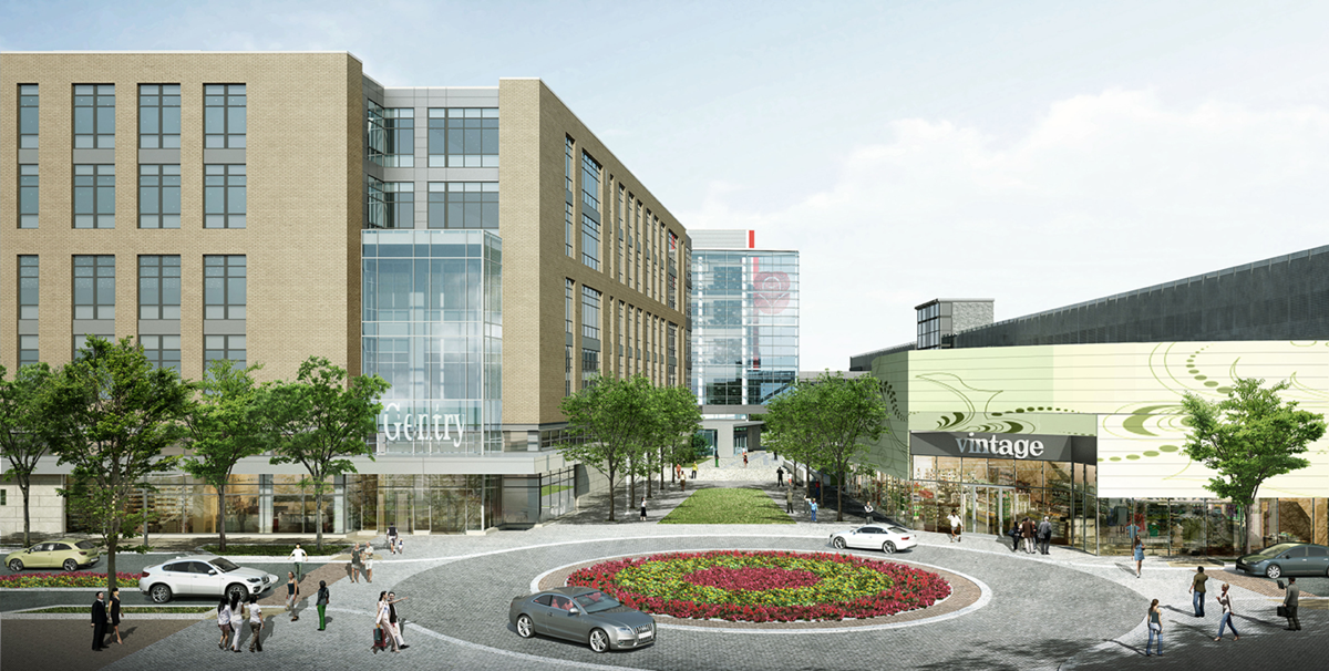 Explosion rocks american greetings construction site at crocker park a 2014 architects rendering shows what the new american greetings creative studios in westlake could look like m4hsunfo