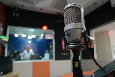 stock radio microphone
