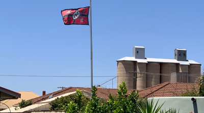Nazi flag removed from Australian home following pressure from neighbors and a Jewish lawmaker