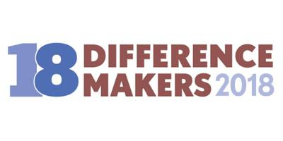 18 Difference makers 2018 logo