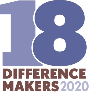 18 Difference Makers 2020 logo