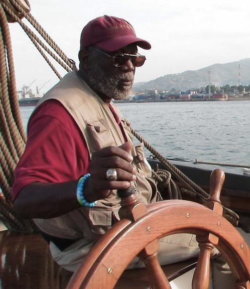 William Bill Pinkney. Pic credit: clevelandjewishnews.com Meet the first black man to travel around the world alone by boat on this day in 1990
