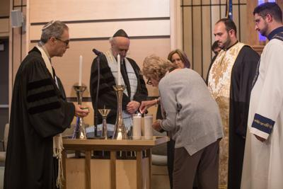 TTTI, St. Gregory of Narek commemorate Kristallnacht, Armenian genocide