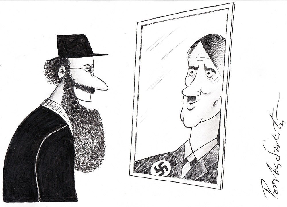 Anti-Semitic Cartoons Nothing To Laugh At