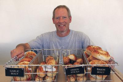 Mark Osolin, former co-owner of Bialys Bagels