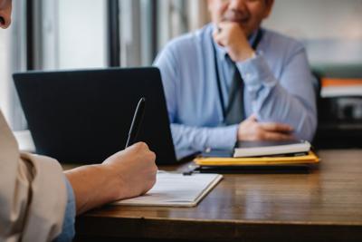 Stock business paperwork estate planning