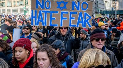 Anti-Semitic hate crimes rose by 14% in 2019, according to the FBI