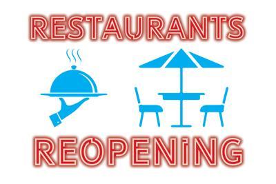 Restaurants reopening