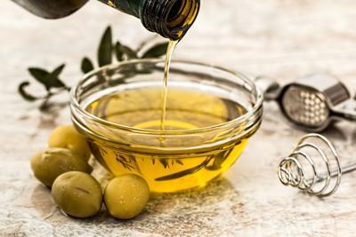 Stock olive oil