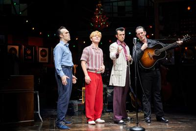 Great Lakes Theater's rock 'n' roll tribute 'Million Dollar Quartet' worth every penny