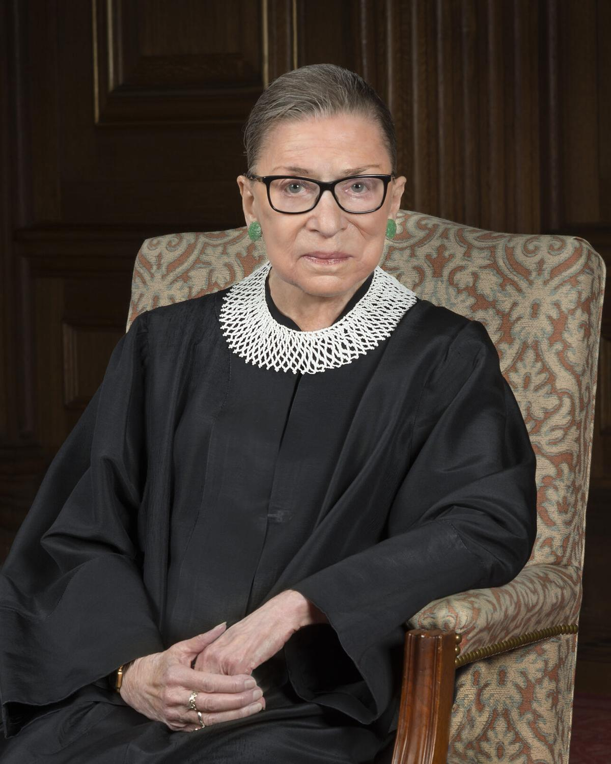 Official Photograph of Justice Ruth Bader Ginsburg