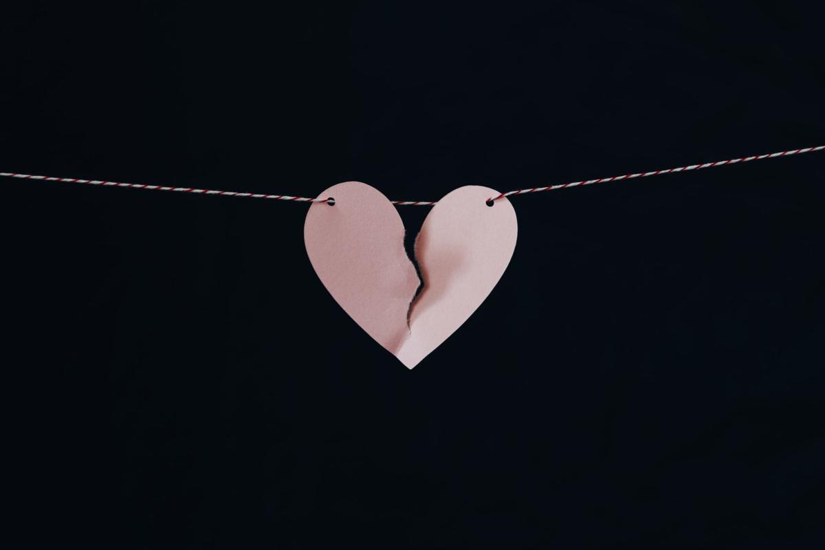 stock divorce broken heart