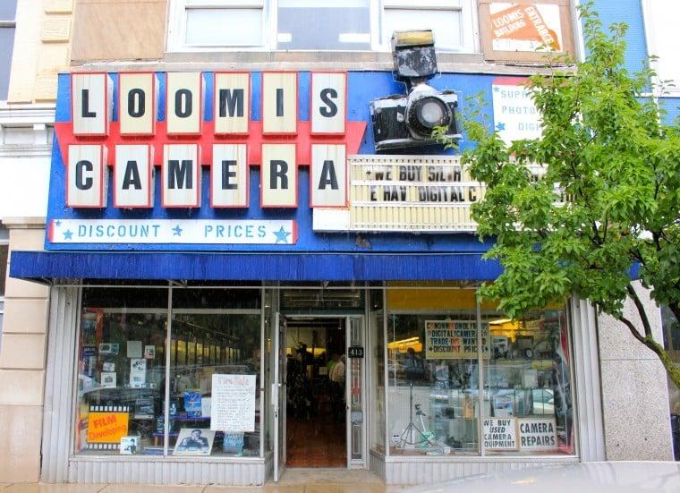Loomis Camera sign