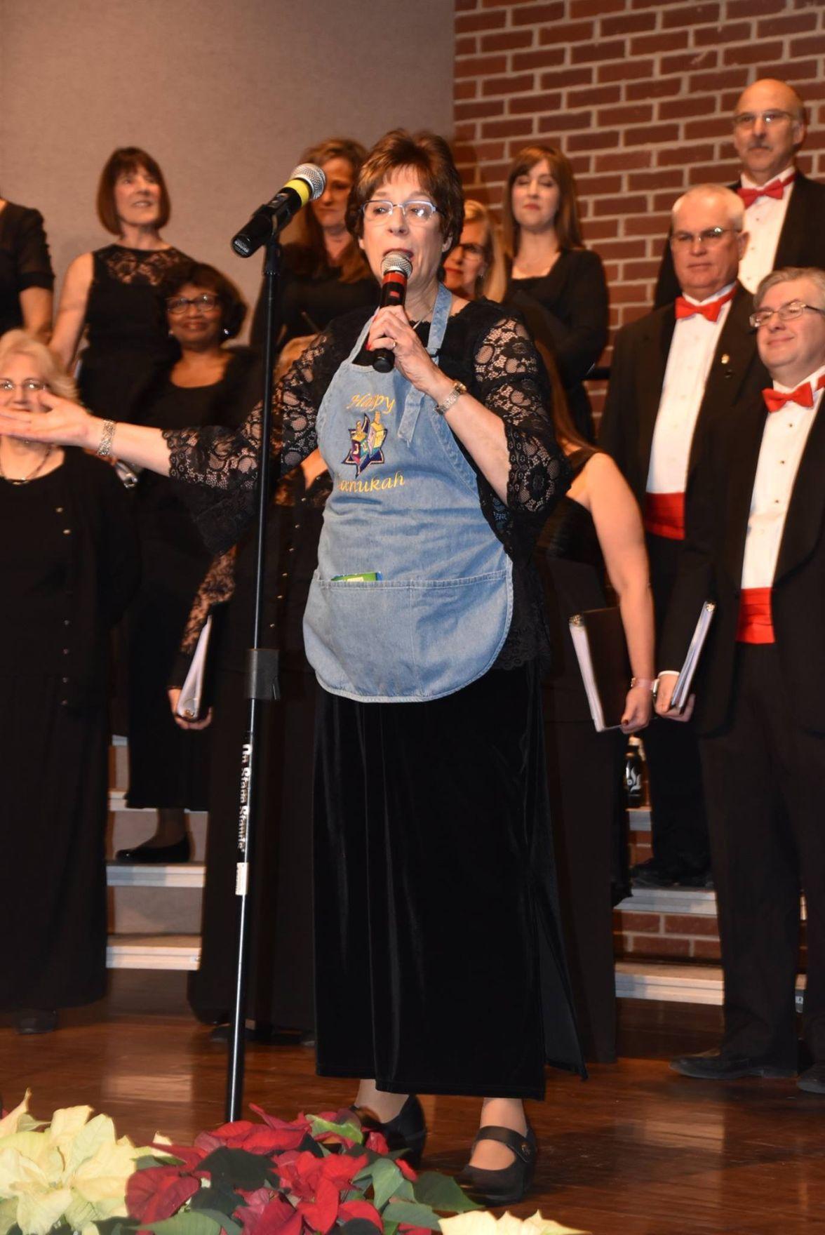 Greene singing
