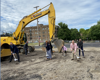 Ascent at the Top of the Hill breaks ground