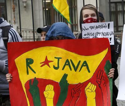 Ukraine Turkey Kurds
