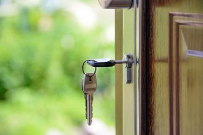 Stock keys house real estate