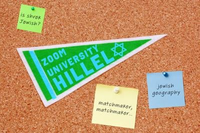 Forced to leave school, Jewish college students are uniting in Zoom University Hillel